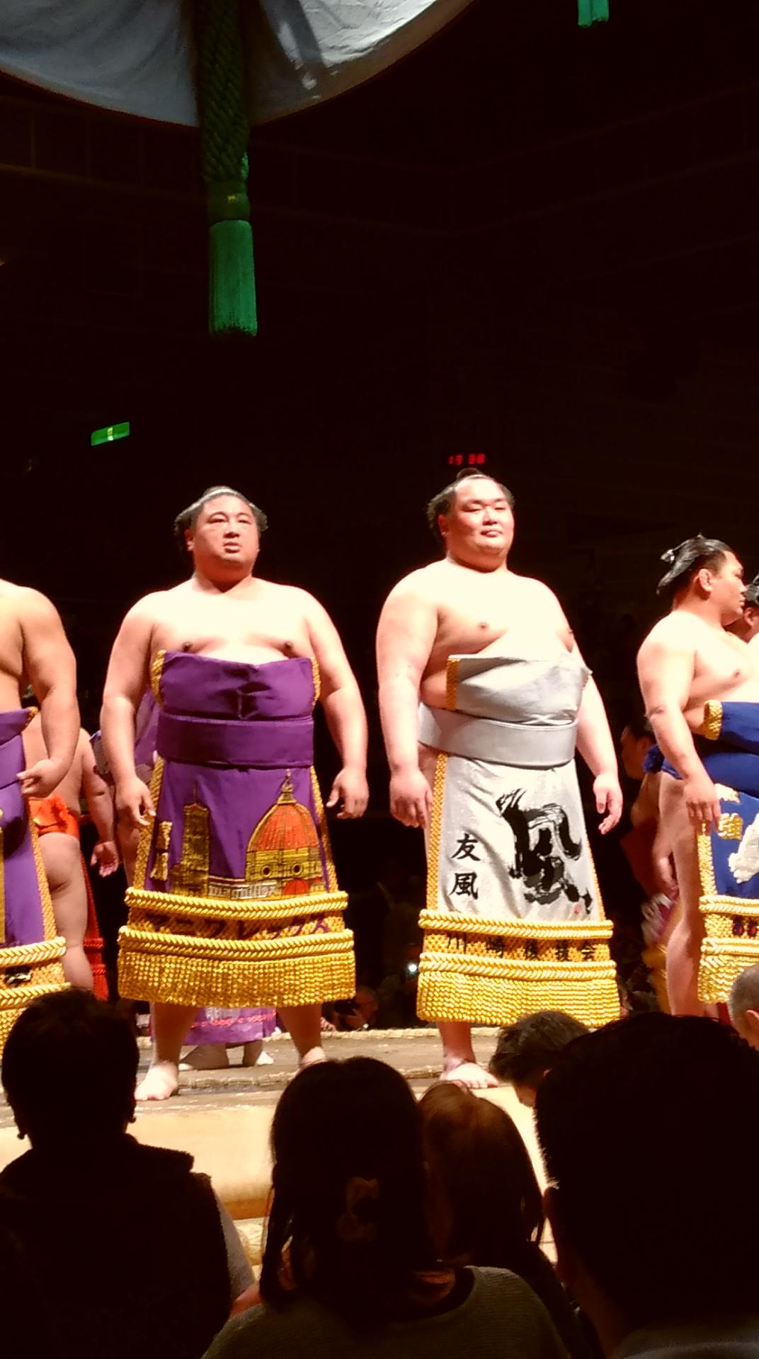 4月12日(金)<大相撲川崎場所>