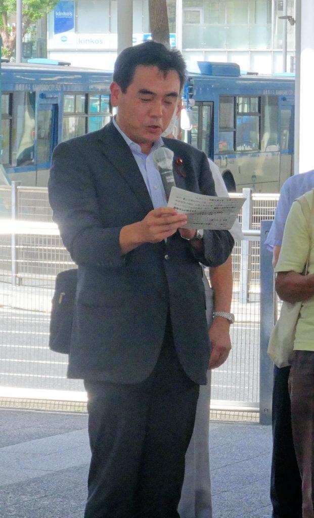 山崎直史川崎市議会議長